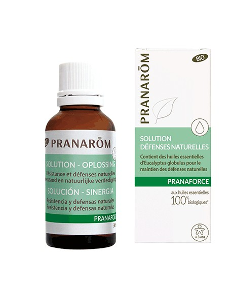Solution BIO Défenses Naturelles PRANAFORCE de pranarom