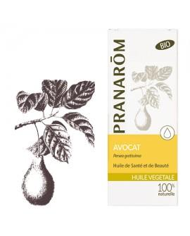 Avocat huile végétale BIO de Pranarom