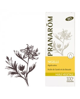 Nigelle (Cumin noir) Huile Végétale BIO de Pranarom