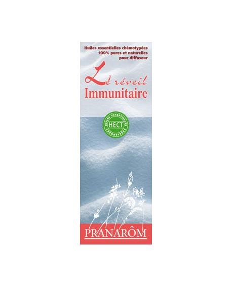 Le réveil immunitaire, Mélange d'huiles essentielles pour diffuseur de pranarom