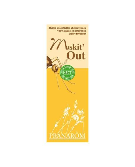 Moskit'Out-mélange d'huiles essentielles pour diffuseur de pranarom (Répulsif insectes)