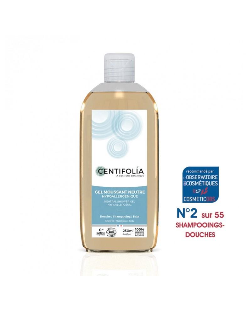 Gel douche bain et cheveux base neutre bio hypoallerg nique 250 ml ultra pratique et conomique - Gel douche hypoallergenique ...