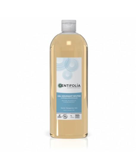 Gel Douche, Bain et Cheveux (Base neutre Bio Hypoallergénique) 1 Litre