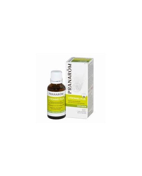 Citronnel'plus, Synergie d'huiles essentielles pour diffuseur de pranarom (Répulsif insectes)