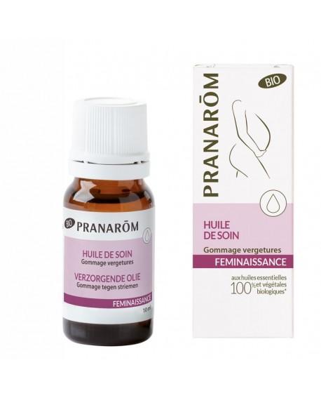 Gommage vergetures BIO, Soin actif vergetures, Féminaissance de Pranarom