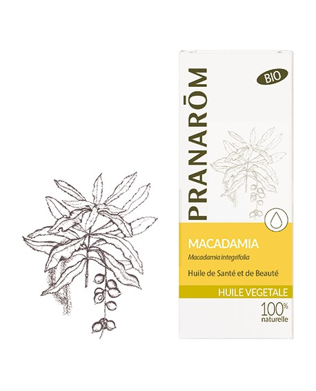 Macadamia Huile végétale BIO de Pranarom