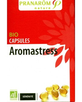 Aromastress BIO capsules aromatiques (stress) de Pranarom