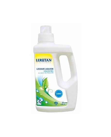 Lessive linge liquide concentré bio lerutan aux huiles essentielles 1.5L