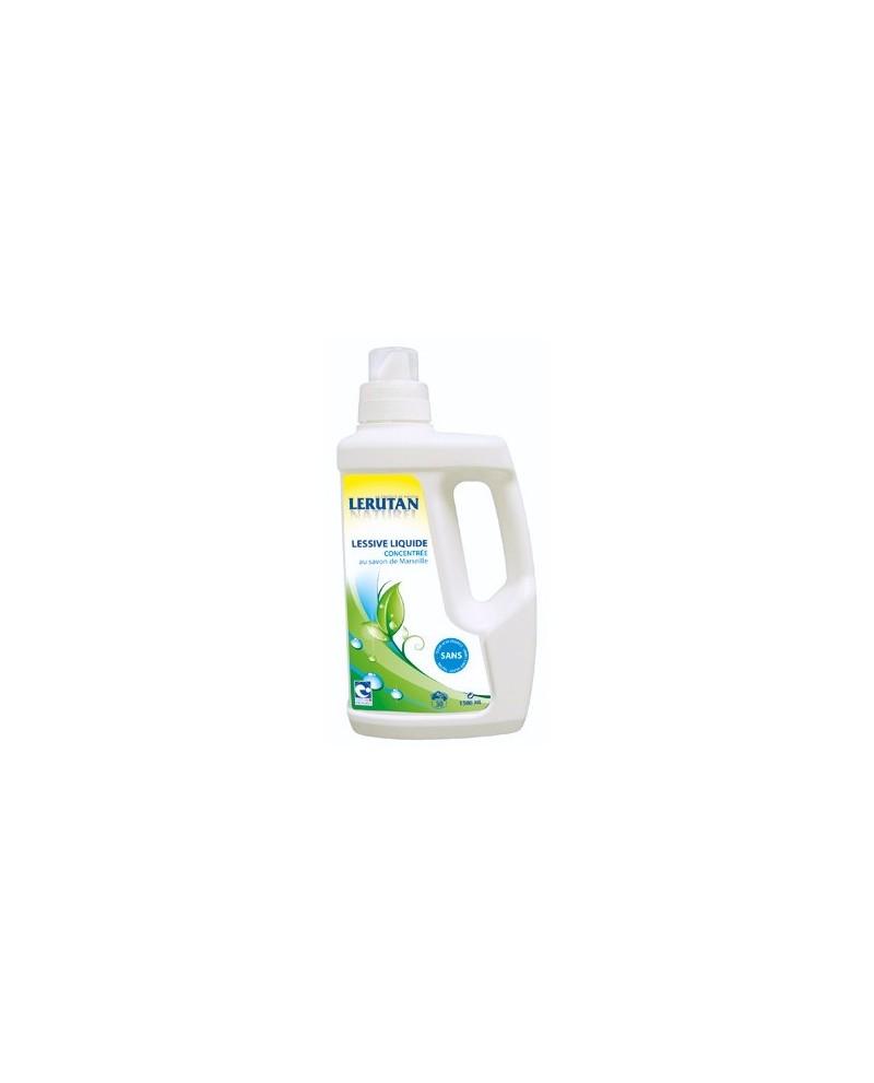 Lessive liquide concentr bio lerutan aux huiles - Huile essentielle desinfectant linge ...