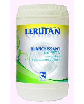 Blanchissant Lerutan bio pour lavage du linge, Dès 40°