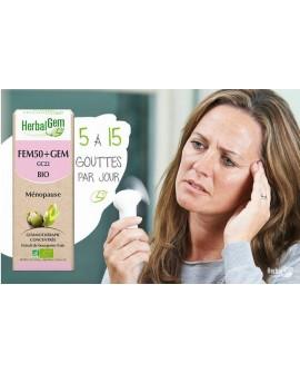 FEM50+GEM - Complexe femme 50+ BIO de HERBALGEM