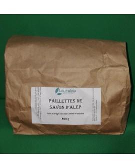 Paillettes de savon d'Alep pour le linge 500 gr