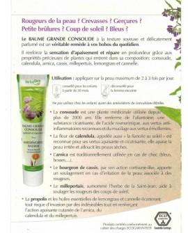 Baume Grande Consoude Bio de Herbalgem