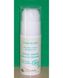 Crème de jour BIO, Peaux sensibles et délicates