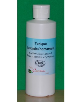 Eau florale lavande, hamamelis BIO ou hydrolat, (peau grasse, mixte)