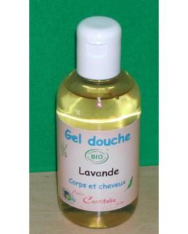 Gel douche BIO lavande (corps et cheveux)