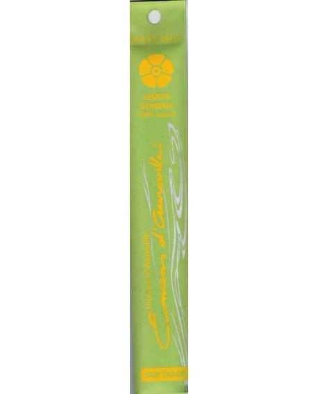 Citron Verveine Encens aux huiles essentielles