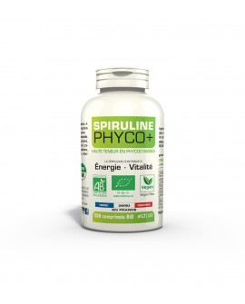 Spiruline BIO PHYCO+, 500 comprimés de LT Labo