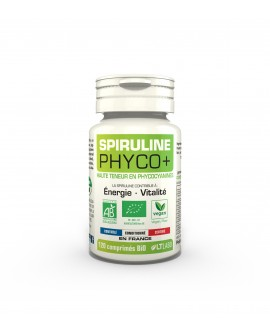 Spiruline BIO PHYCO+, 120 comprimés de LT Labo