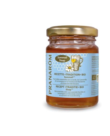 Miel BIO Sommeil aux huiles essentielles de Pranarom
