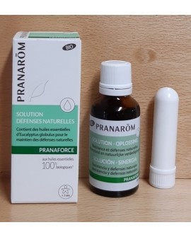 Pranastick Nez (solution bio pranarom 30 ml + 1 stick inhalateur) de Aroma Essentiel