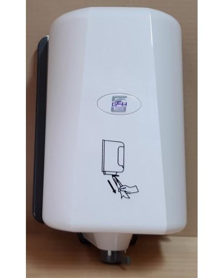Distributeur essuie mains blanc