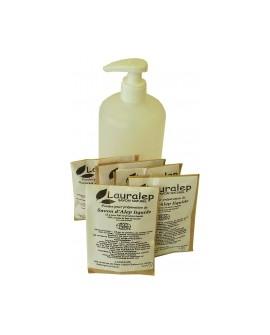 Préparation pour Savon d'alep liquide bio 30% de laurier, 5x500 ml
