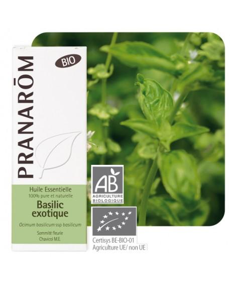 Basilic exotique Bio, Huile essentielle de Pranarom