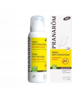 SPRAY anti-moustique  (Atmosphérique & Tissus) bio AROMAPIC de Pranarom