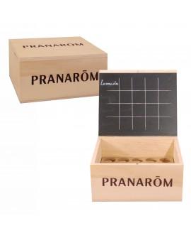 Aromathèque (coffret en bois) pour 20 Huiles Essentielles de Pranarom