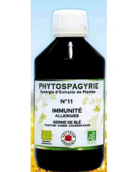 Phytospagyrie n°11 Immunité Allergies - Vecteur Energy