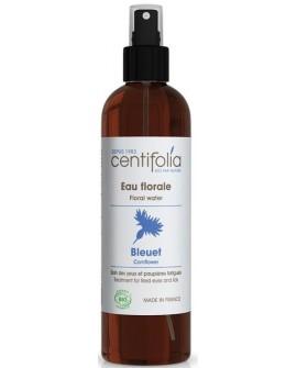 Eau florale bleuet BIO ou hydrolat (Apaisant, décongestionnant des yeux)