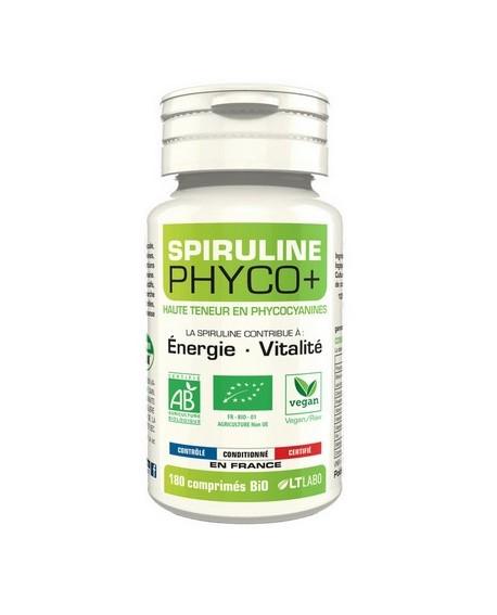 Spiruline BIO PHYCO+, 500 comprimés de 500mg LT Labo