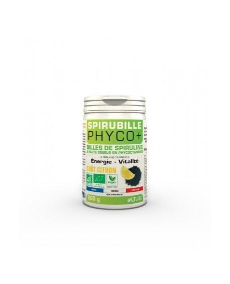 Spirubille BIO Phyco+ Goût Citron de LT Labo