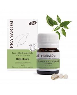 Ravintsara BIO Pranarom, Perles d'huile essentielle