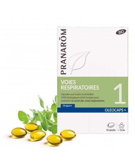 Voies respiratoires Oléocaps+ 1 Bio de Pranarom