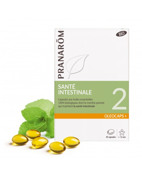 Santé intestinale Oléocaps+ 2 Bio de Pranarom