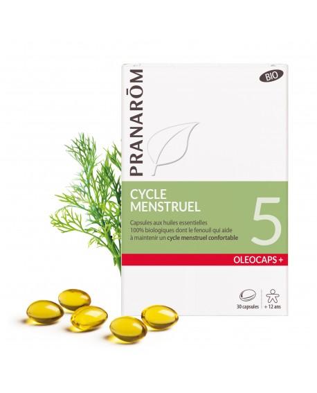 Cycle menstruel Oléocaps+ 5 de Pranarom