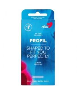 Préservatifs Latex naturel, Magic PROFIL, 10 unités