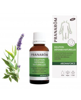 Solution Défenses Naturelles Bio 30 ml AROMAFORCE de Pranarom