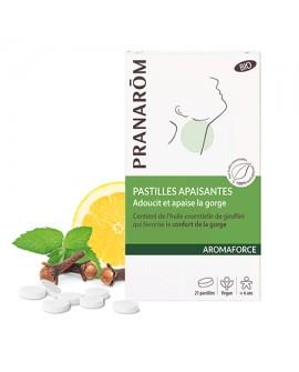 Pastilles apaisantes Bio Aromaforce de Pranarom