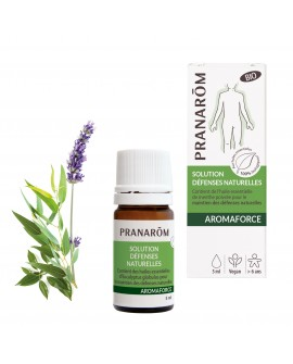 Solution AROMAFORCE 5 ml Défenses Naturelles Bio de Pranarom