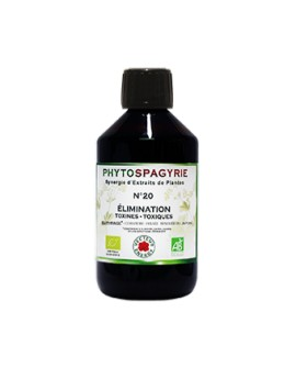 Phytospagyrie n°20 Elimination Toxines Toxiques - Vecteur Energy