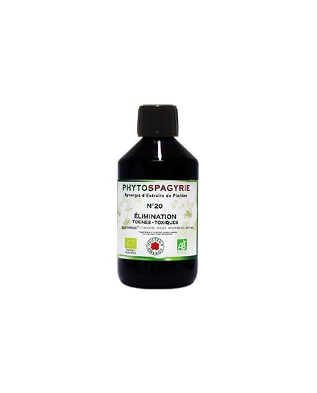 Phytospagyrie n°20 Elimination Toxines Toxiques - Vecteur Energy