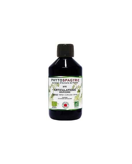 Phytospagyrie n°5 Articulations Souplesse - Vecteur Energy