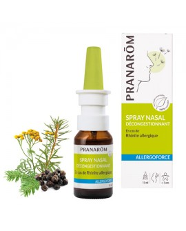Spray Nasal décongestionnant Allergoforce de Pranarom