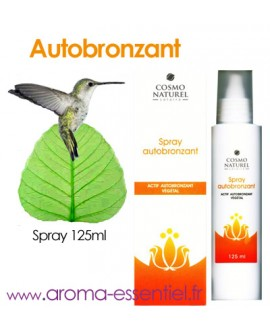 Autobronzant BIO en Spray de Cosmo naturel