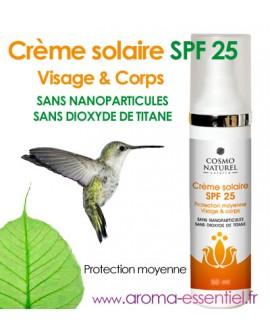 Crème solaire BIO SPF 25 de Cosmo Naturel 75 ml