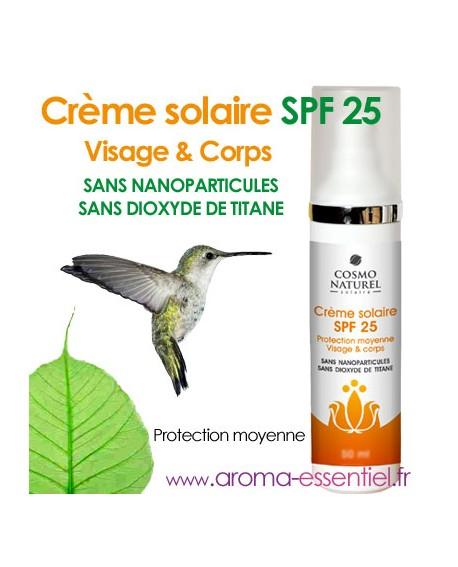 Crème solaire BIO SPF 25 de Cosmo Nturel 75 ml