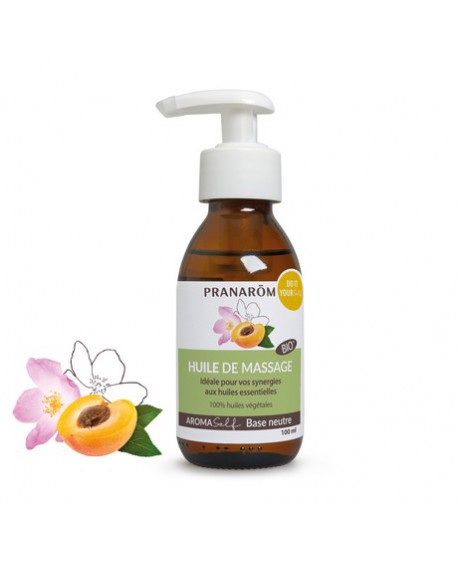 Huile de massage neutre Bio de Pranarom
